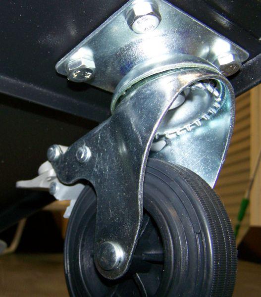 nouvelle fixation des roues