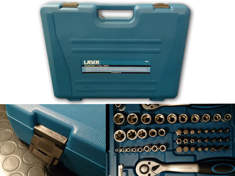 coffret laser