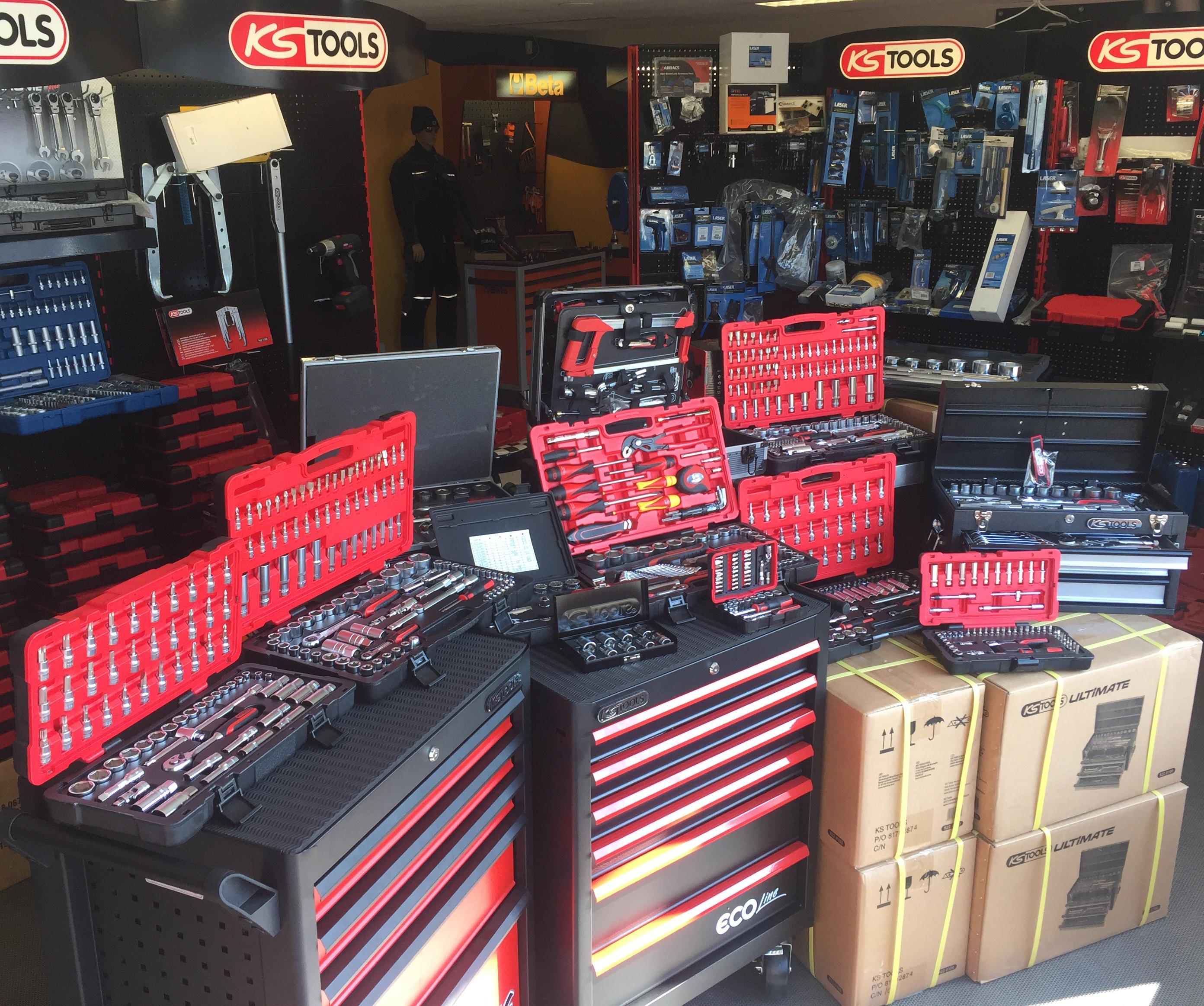 Coffret douilles KS Tools